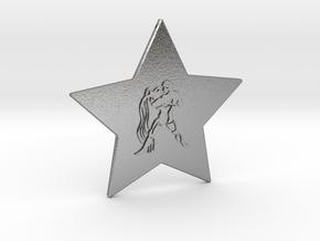 star-aquarius in Natural Silver