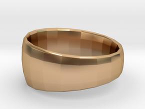 Ima Edgededges Ring in Polished Bronze: 5 / 49