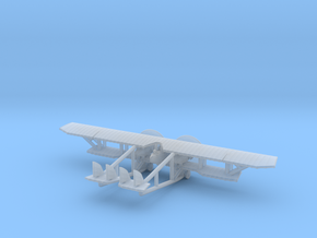 Caudron G.4 in Smooth Fine Detail Plastic: 6mm