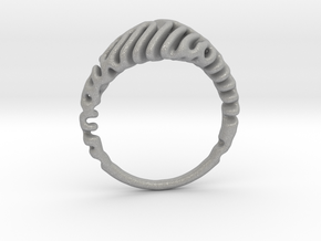 Reaction Diffusion Ring  5 in Aluminum