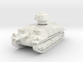 Somua SAu40 scale 1/100 in White Natural Versatile Plastic