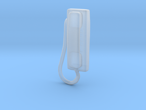Printle Thing Wall Phone - 1/24 in Smooth Fine Detail Plastic