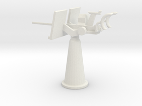 1/72 Scale 20mm Gun Mount Mk5 in White Natural Versatile Plastic