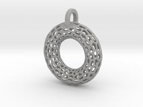 Torus Pendant in Aluminum