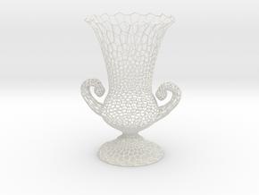 Vase GP1500 in White Natural Versatile Plastic
