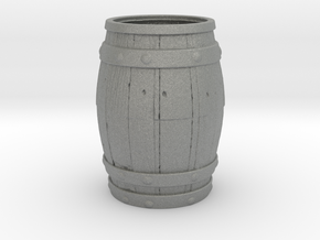 Barrel Toothpick Holder in Gray Professional Plastic