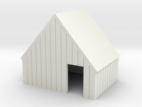 commisary facade in White Natural Versatile Plastic