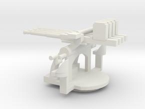 1/48 Scale 1.1 inch Mount Mk2 in White Natural Versatile Plastic