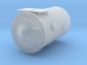 Baldwin Smokebox (Extended)  in Smooth Fine Detail Plastic