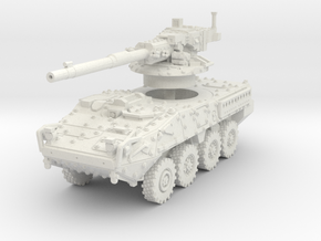 M1128 Stryker scale 1/87 in White Natural Versatile Plastic