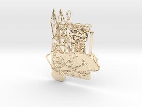 Creator Pendant in 14K Yellow Gold