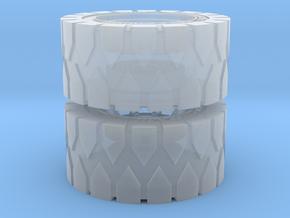 All Terrain Wheels x2 #1 in Smooth Fine Detail Plastic