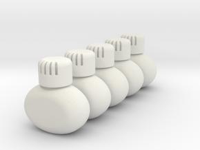 THM 00.0041 5x Poppy air freshener in White Natural Versatile Plastic