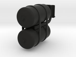 THM 00.1034 Double air reservoir in Black Natural Versatile Plastic