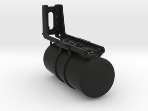 THM 00.1035 Single air reservoir in Black Natural Versatile Plastic
