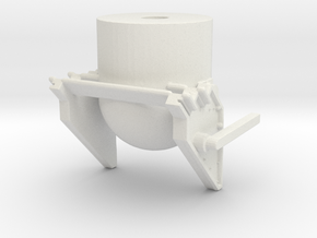 13 inch mortar in White Natural Versatile Plastic
