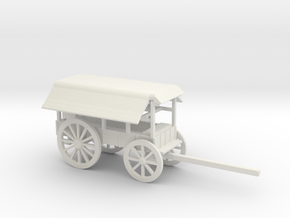 TELEGRAPH WAGON DEPLOYED in White Natural Versatile Plastic