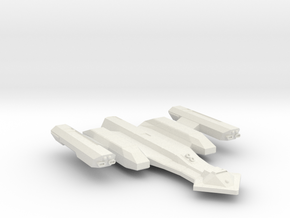 3125 Scale Vari Wing Cruiser MGL in White Natural Versatile Plastic