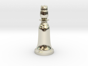 Queen White - Bell Series in 14k White Gold
