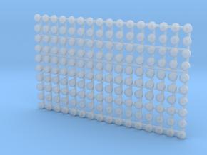 Set of 160 - Hot Wheels centercaps  in Smoothest Fine Detail Plastic