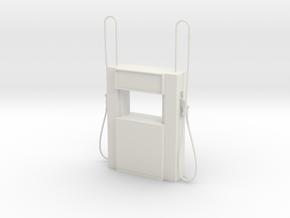 Tanksäule fuel pump 1:50 40mm in White Natural Versatile Plastic