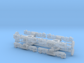 Alstom Class 175 4x Bogies 1/148 in Smooth Fine Detail Plastic