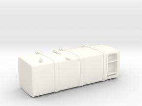 THM 00.2123-150 Fuel tank Tamiya MAN in White Processed Versatile Plastic
