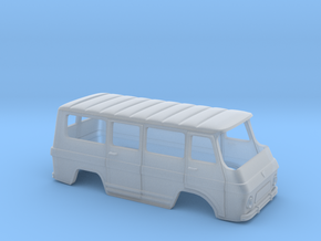 Rocar TV 12 M Body - Romanian Minibus Scale 1:87 in Smooth Fine Detail Plastic