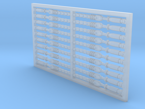 Chain Binder 20 Pack 1-87 HO Scale in Smooth Fine Detail Plastic