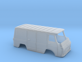 Rocar TV 12 Transporter Body-Scale 1:120 in Smooth Fine Detail Plastic