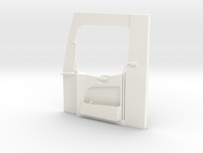 THM 07.3072 Door panel right MB Actros Tamiya in White Processed Versatile Plastic
