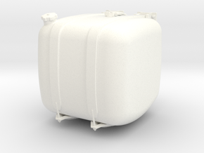 THM 00.3102-050-R Fuel tank Tamiya Actros in White Processed Versatile Plastic