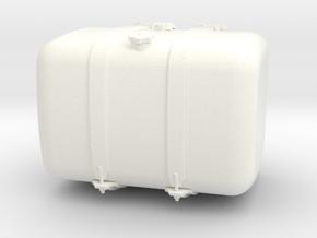 THM 00.3102-072 Fuel tank Tamiya Actros in White Processed Versatile Plastic