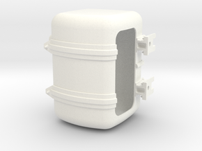THM 00.3109-TR Fuel tank right Tamiya Actros in White Processed Versatile Plastic