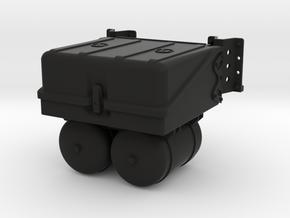 THM 00.3802 Battery box Tamiya Actros in Black Natural Versatile Plastic