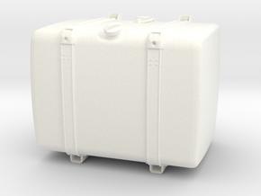 THM 00.4102-072 Fuel tank Tamiya Scania in White Processed Versatile Plastic
