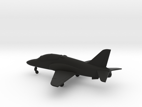 BAE Hawk T.1 in Black Natural Versatile Plastic: 1:160 - N
