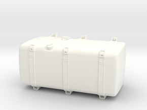 THM 00.4133-100 Fuel tank Tamiya Scania Low in White Processed Versatile Plastic