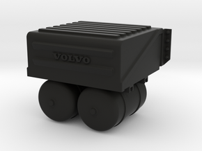 THM 00.5802 Battery box Tamiya Volvo FH12 in Black Natural Versatile Plastic