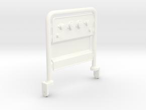 THM 01.0023 Air hose bar in White Processed Versatile Plastic