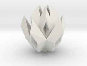 paper boat rose in White Natural Versatile Plastic: Small