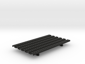THM 01.1011 Platform small in Black Natural Versatile Plastic