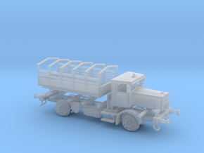 LKW VOMAG Schienen Truck 1:220 in Smooth Fine Detail Plastic