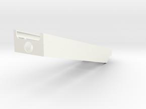 Siège K36DM rampe in White Processed Versatile Plastic