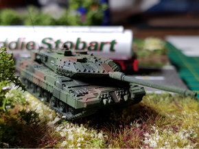 German Leopard 2 A7 MBT 1/200 in Smooth Fine Detail Plastic