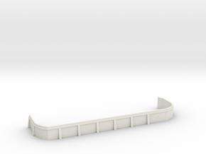 1/96 USN bow main deck port 20mm gun x3 tub in White Natural Versatile Plastic