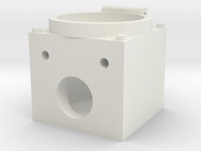 "MU BOX 12PIN 1.5"" scale in White Natural Versatile Plastic"