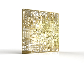 Las Vegas in 18k Gold Plated Brass