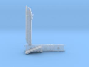 N gauge Plasser and Theurer MFS-D (singular) in Smooth Fine Detail Plastic