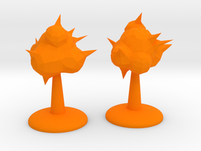 ! - Explosion Phenomenon Terrain in Orange Processed Versatile Plastic